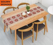 European Style Elegant Luxury Embroidery Chinese Table Runners Beautiful Home Decoration High Quality Fabrics Made in China