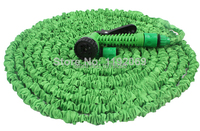100FT להרחבה צינור עם סט זרבובית משלוח חינם ערכות השקיה 100FT צינור גמיש עם אקדח