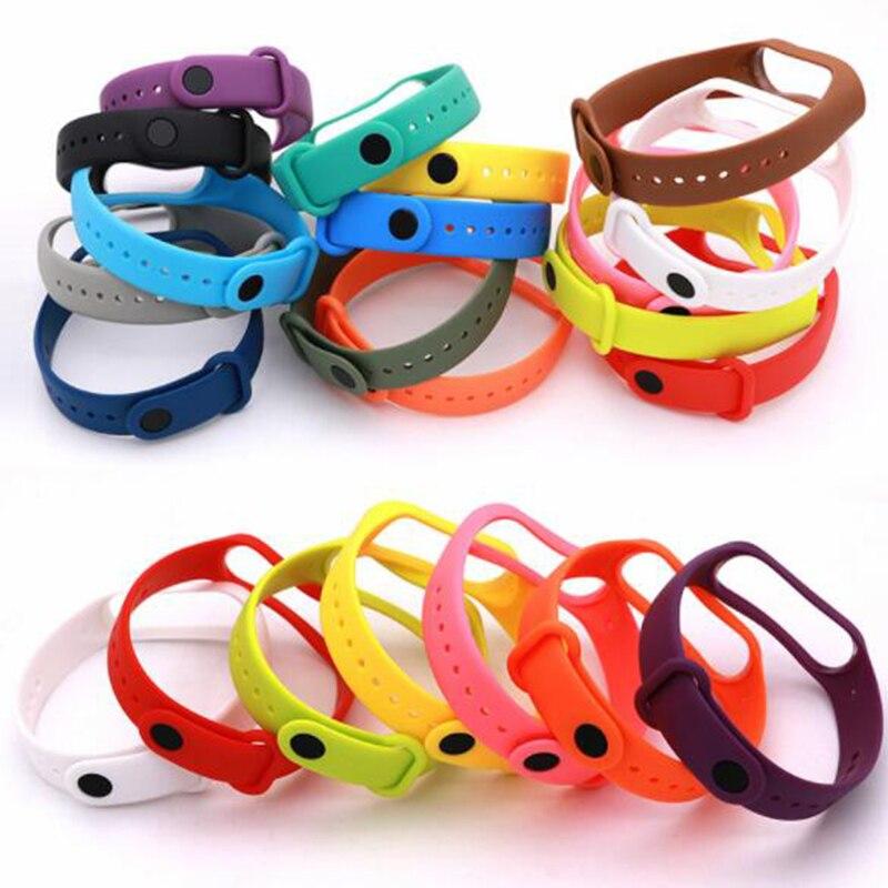 Replace Bracelet For Xiaomi Mi Band4 Strap Silicone Strap Mi Band 4 Bracelet Wristbands Band Wrist Strap For Xiaomi Mi Band 4