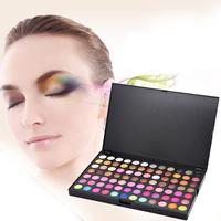 Eye sequins lasting eye shadow palette 168 colors / set makeup nude color eyeshadow matte eye shadow makeup tools