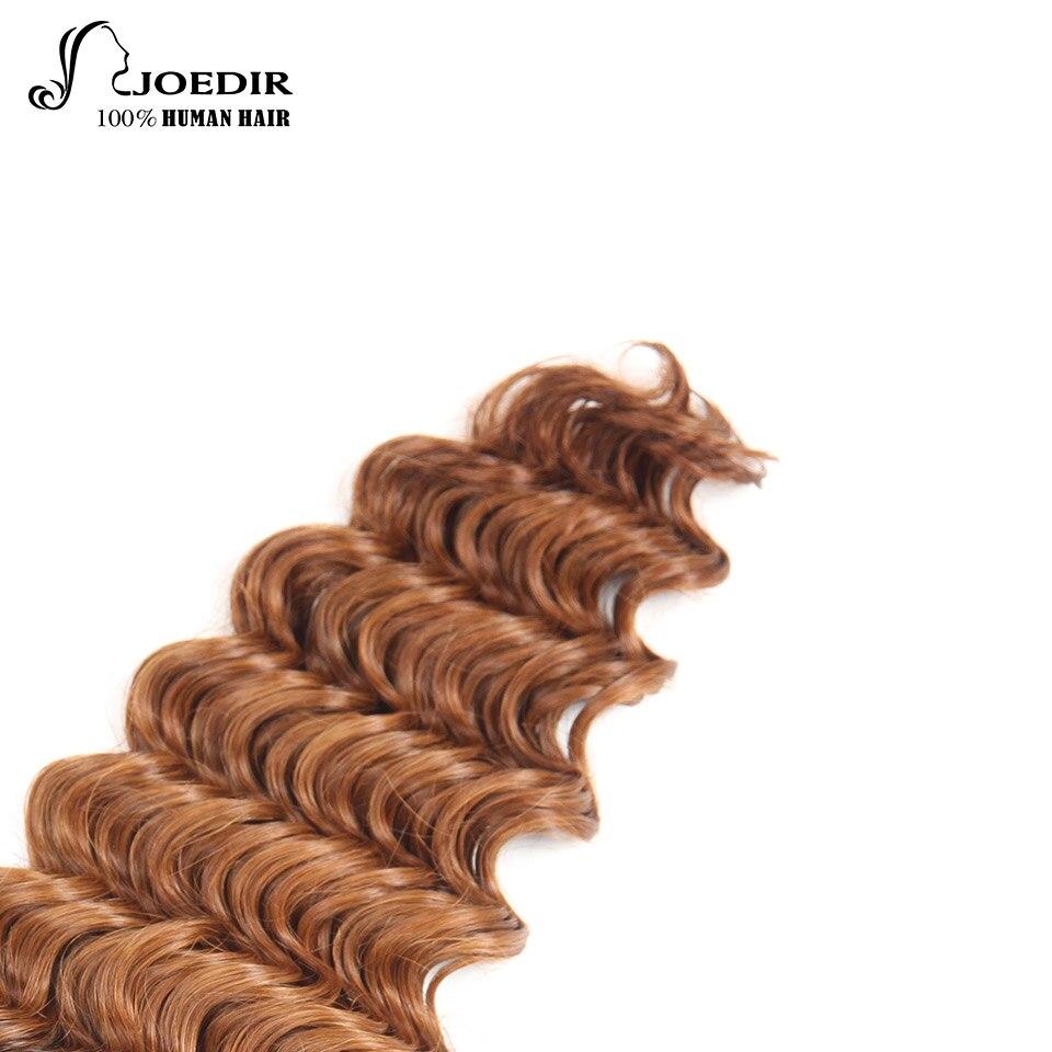 Joedir Deep Wave Bundles 1 Piece Only Brazilian Human Hair Weaving - Skönhet och hälsa - Foto 6