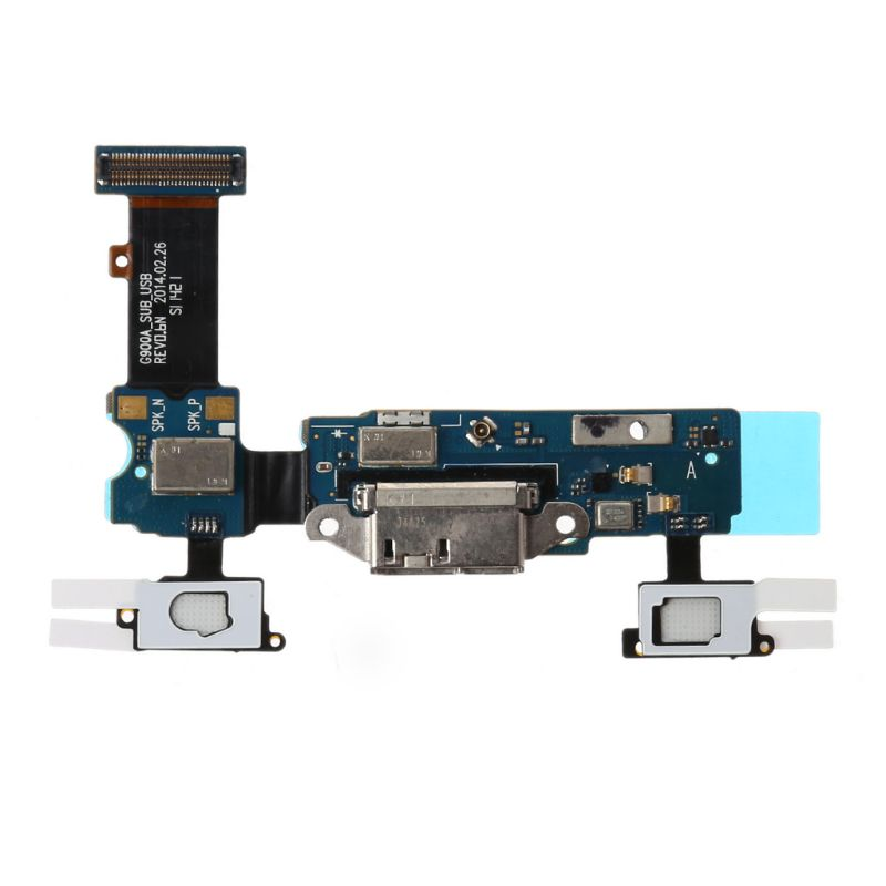 Micro USB Port Charging Outlet Dock Connector Replacement Flex Cable For Samsung Galaxy S5 G900F G900A Microphone     HM