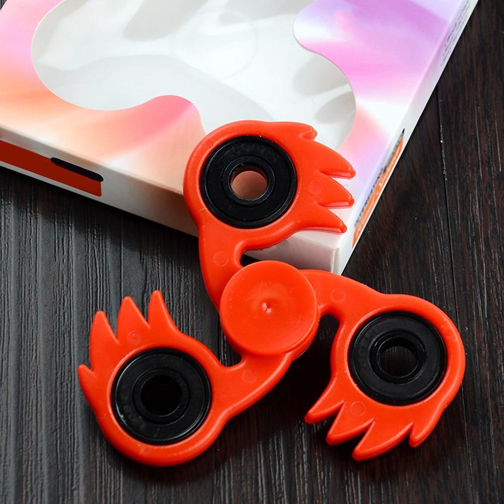 Feather Phoenix Bird Shape Hand Spinner Fidget Desk Toy EDC Focus ADHD Gift