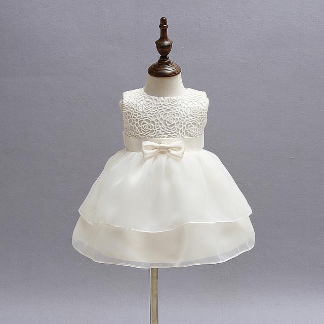 Vintage Lace Baby Girl Wedding Pageant Dress Infant Princess Little ...