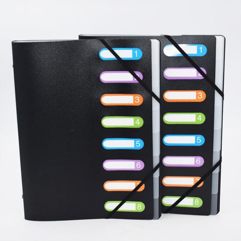 New Listing Multicolor 8 Into Multi-Page Classification Folder A4 PP File Holder Storage Bag Portfolio Office Learn Good HelperNew Listing Multicolor 8 Into Multi-Page Classification Folder A4 PP File Holder Storage Bag Portfolio Office Learn Good Helper