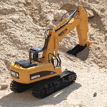[Funny] Multifunction 15 channel 2.4G RC Excavator Charging RC