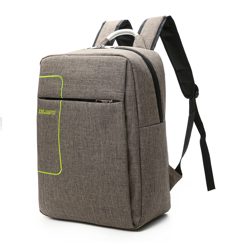 2018 New style Casual Backpacks School Bag For Teenager USB Charging Connection Softback Zipper Backpack