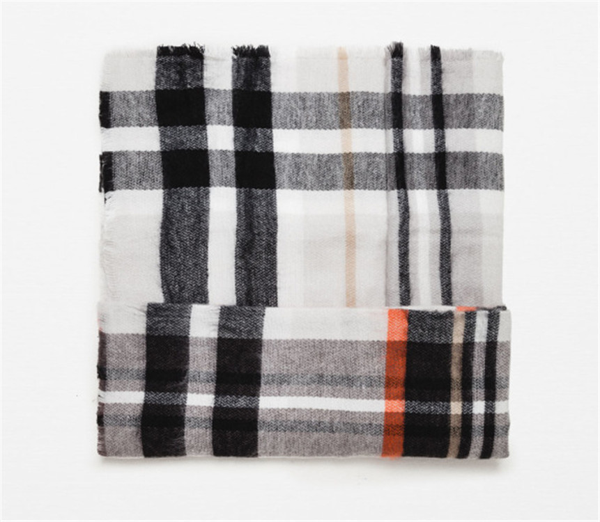 2016 Za Brand Winter Square Scarf Women font b Tartan b font Plaid Cashmere Scarf Blanket
