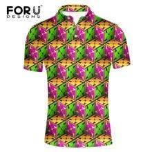 FORUDESIGNS Breathable Polo Shirt Homme Regular Plus Size Brand Clothing Contrast Short Sleeve Polo Shirt Tommis Polo Ralphmen