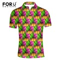 Forudesigns respirável camisa polo homme regular plus size contraste roupas de marca manga curta camisa polo tommis polo ralphmen