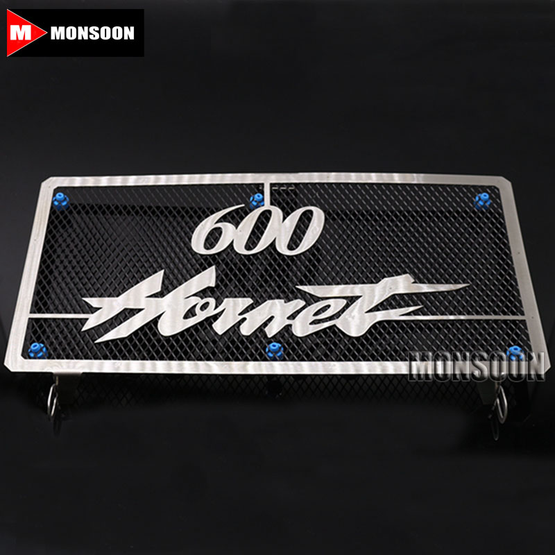For HONDA Hornet 600 Hornet600 CB600 2003-2006 2004 2005 Motorcycle Accessories Radiator Grille Guard Cover Fuel Tank Protection motorcycle radiator cover water tank cooler grille guard fairing protector for honda vtx1800 2002 2008 2007 2006 2005 2004 2003