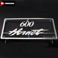 For HONDA Hornet 600 CB600 2003 2006 Radiator Grille Guard Cover Fuel Tank Protection