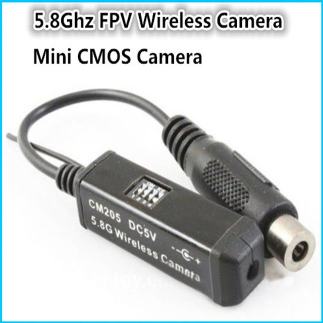 Fpv boscam CM205 5,8G boscam inalámbrico mini CMOS de la Cámara de control Remoto helicóptero FPV ZMR250 QAV280 QAV250