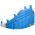 Yard tubarão parque aquático inflável dual slide jumper crianças brincar ao ar livre oferta especial para a áfrica
