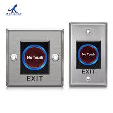 Умный ИК-датчик кнопочные кнопки без касания инфракрасный дверной Выход кнопочный переключатель для системы контроля доступа