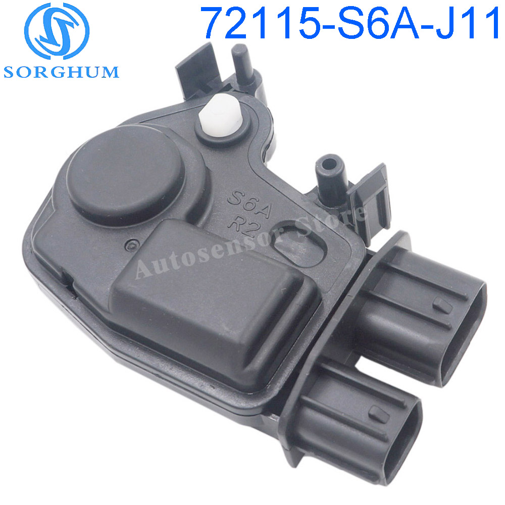 72115-S6A-J11 New <font><b>Door</b></font> Lock Actuator Motor Dorman Fits 01-05 Honda <font><b>Civic</b></font> image