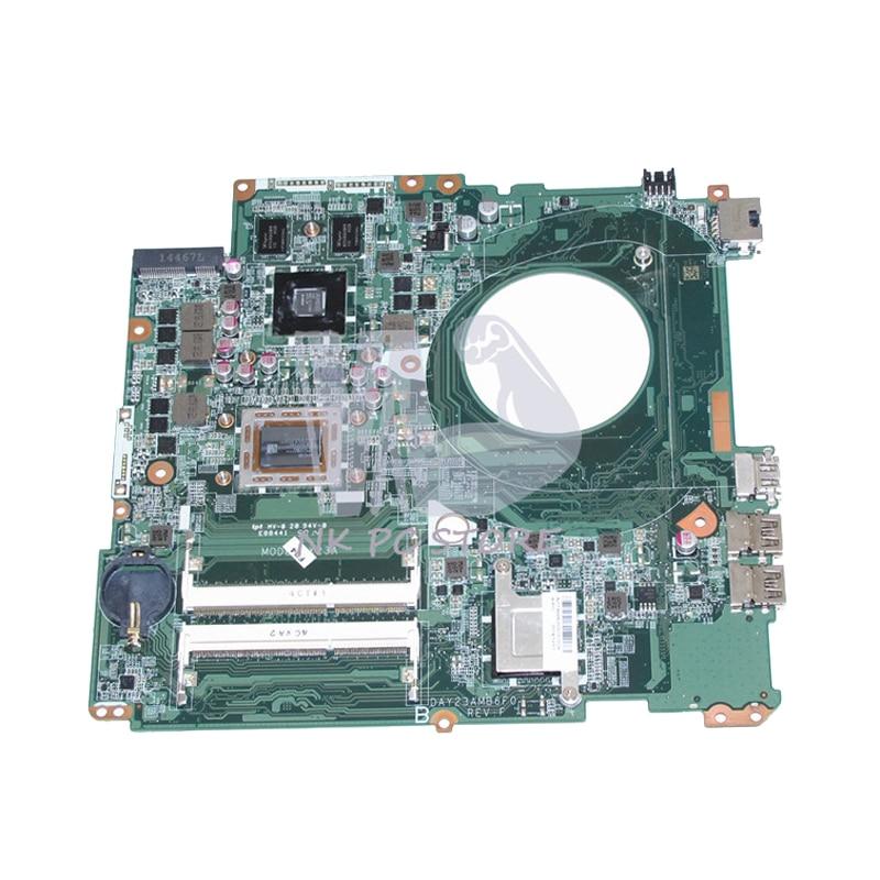 NOKOTION 763428-501 763428-001 For HP Pavilion 17 17-F Laptop Motherboard DAY23AMB6F0 A10-5745M CPU 260M 2GB GPU DDR3 nokotion 766715 501 766715 001 r7 260m main board for hp 15 p laptop motherboard day23amb6f0 a10 4655m cpu full tested