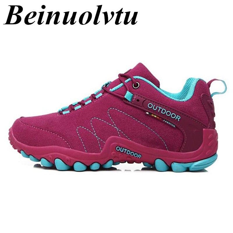 Zapatos Corrientes de Las Mujeres Zapatillas de deporte de cuero Mate Sportschuh