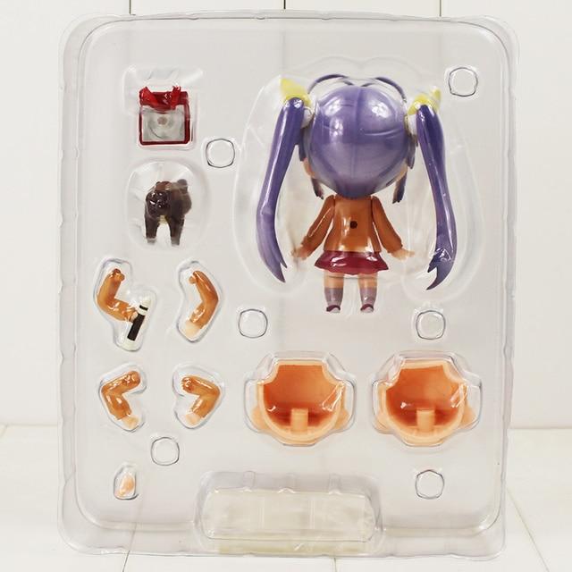 10cm Renge Miyauchi Nendoroid 445 Figure Toy Non Non Biyori Girl With Changeable Face Anime Toy for Kids 3