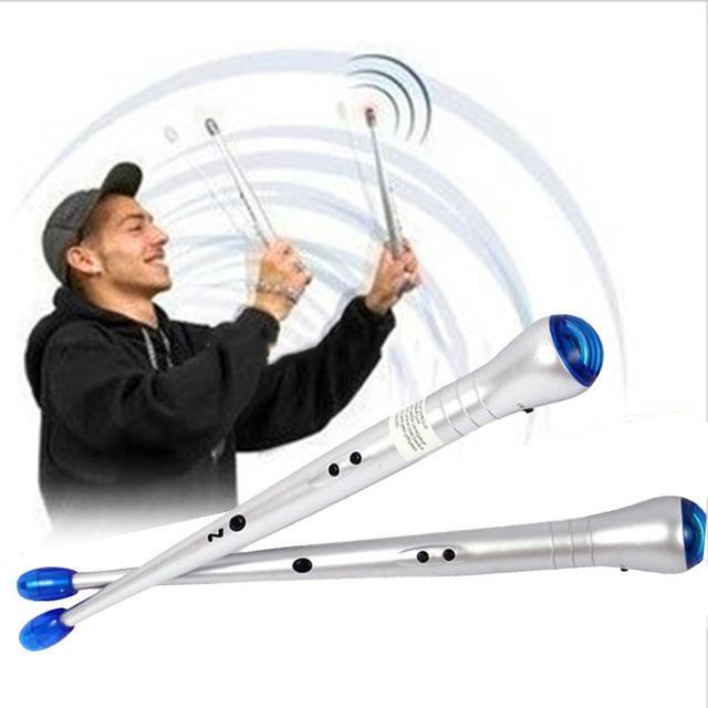 Electronic Drum Sticks Portable Air Drumsticks Set Lightweight Rhythm Hardware