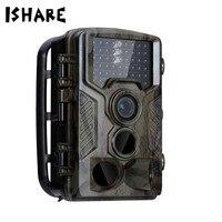 ISHARE Jagd Trail Kamera Full HD 1080 P Video Nachtsicht Digital Cam Scouting Hunter Kameras Wildkamera Foto Fallen