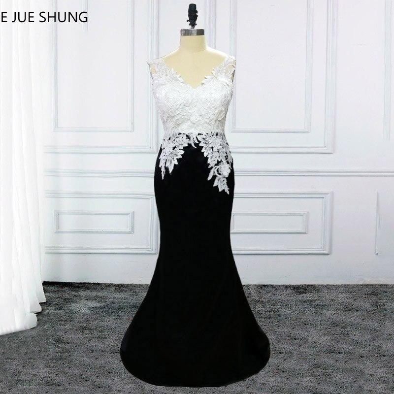 E JUE SHUNG White Lace And Black