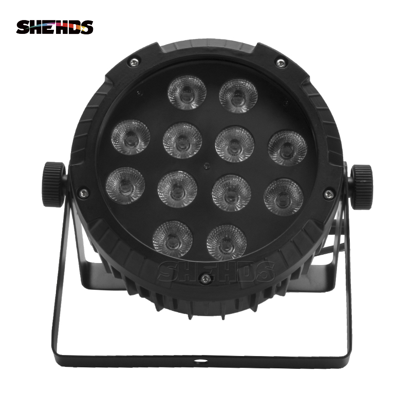 Waterproof LED Flat Par 12x12W RGBW DMX512 Stage Effect Lighting Good For Outdoor Swimming Pool DJ Disco Party And NightclubWaterproof LED Flat Par 12x12W RGBW DMX512 Stage Effect Lighting Good For Outdoor Swimming Pool DJ Disco Party And Nightclub