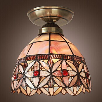 Copper LED Vintage Ceiling Light For Living room Lamp Home Lighting Fixtures,E27 Bulb Included,Lamparas De Techo,AC,90V~260V smart bulb e27 7w led bulb energy saving lamp color changeable smart bulb led lighting for iphone android home bedroom lighitng