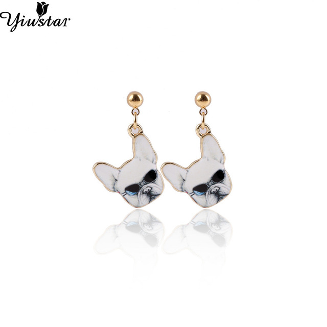 Yiustar Dog Wear Gl Earrings For Women Birthday Gifts Oeh011