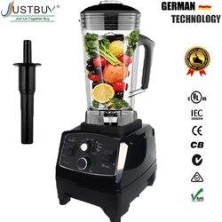 BPA Libero del Grado Commerciale Timer Blender Mixer Heavy Duty Automatico di Frutta Spremiagrumi Robot da Cucina Frantoio di Ghiaccio Frullati 2200 W