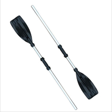 1Pair Water-skiing Rowing Boat Paddles Detachable Durable Aluminium Alloy For Boats Water Rafting Canoe Paddle Sport Accessories high quality explorer two inflatable fishing boats thickened double rubber rowing boat paddles and pumps