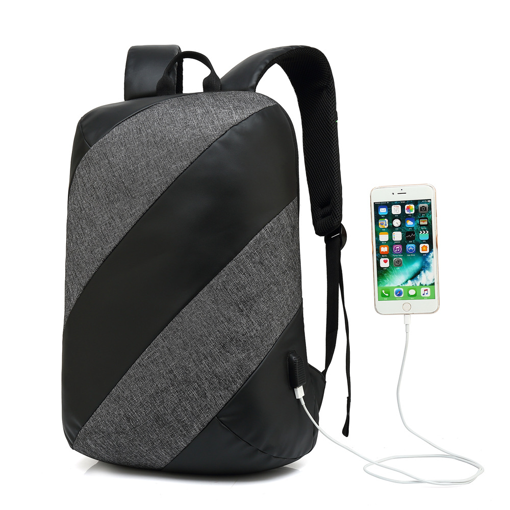 Backpack Men Fashion Backpack Laptop Oxford USB charging Anti Theft Waterproof Travel Backpack For Male Women School Bag Urban цена