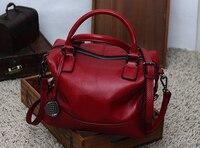 Genuine leather handbag Vogue Star Fashion 100% Real Leather Women Handbag Tote Bag Ladies Shoulder Bags fashion handbag bucket
