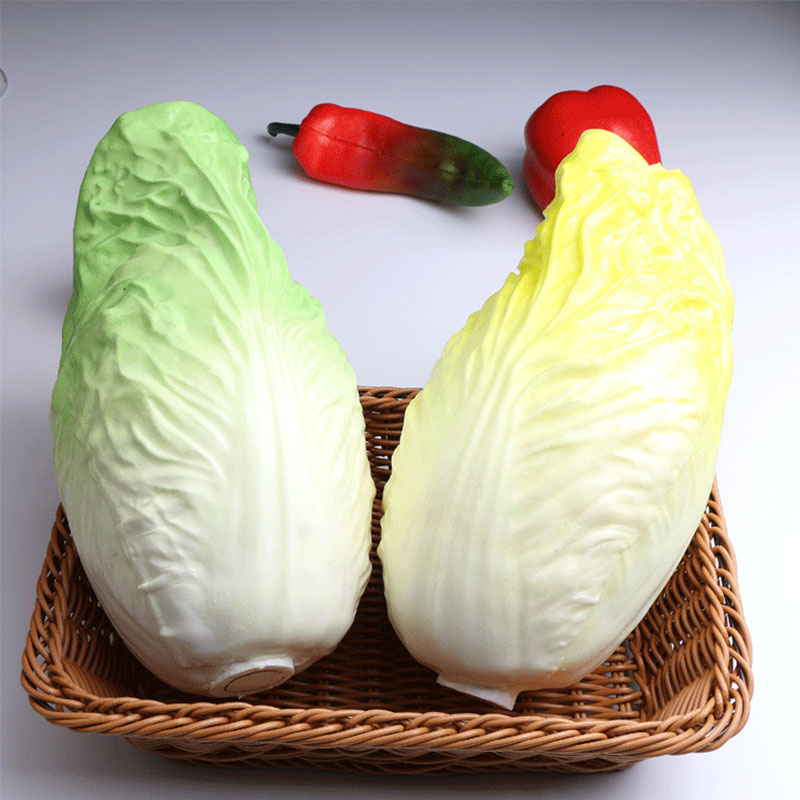 Высокая моделирования китайский Капустная капуста кольраби желтая капуста поддельные завод кабинет раннее образование украшения овощи