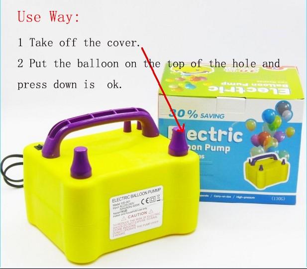 balloon blow machine
