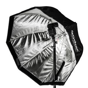 Image 4 - Godox Portable 120cm / 47.2in Octagon Softbox Umbrella Brolly Reflector for Studio Strobe Speedlight Flash
