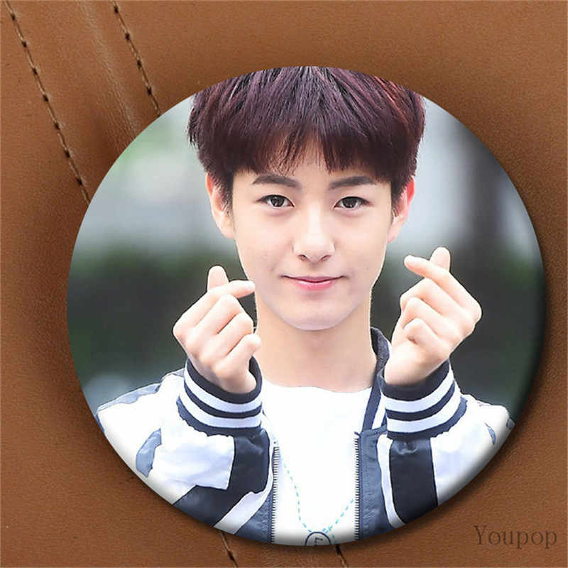 Youpop KPOP Korean NCT U NCT 127 NCT Dream NCTU NCT127 Metal 58mm Round Badge Pins And Brooches For Clothes Hat Backpack