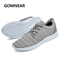 GOMNEAR 2017 Running Shoes New Light Weight Mesh Sports Shoes Trendy Jogging Sneakers For Woman Man
