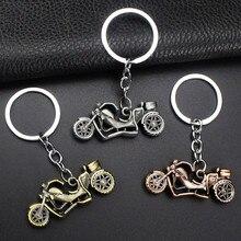 Автомобильный Брелок 1 шт., мотоциклетная модель, брелок из нержавеющей стали, автомобильный брелок Llavero Moto chaviro Para Carro, аксессуары для автомобильных ключей