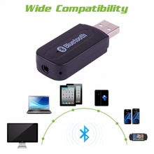 USB Wireless Bluetooth Adapte 4.0 Music Stereo Receiver Audio 3.5mm Music Transmitter for TV Laptop Bluetooth Receiver Connect