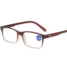 XojoX мужские и женские очки для чтения винтажные прямоугольные очки для чтения модные красные анти-синий светильник очки по рецепту дальнозоркости