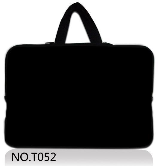 """Negro notebook laptop manga caso bolsa impermeable del bolso para ipad Macbook Tablet PC 10 12 13 14 15 15.6 17 """"mujeres hombres Niños"""