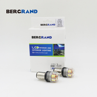 P21 5W Led Lamp 1157 Car Lights S25 Signal Lamp 15leds White 6500K LED 12V Taiwan