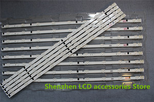 Image 2 - 5pieces/lot  New UA32F4088AR CY HF320AGEV3H UE32F5000 UA32F4000AR LED strip D2GE 320SC0 R3 2013SVS32H 9 LEDs 650mm