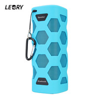 LEORY NFC Speaker Portable IPX6 Waterproof Wireless Bluetooth Speaker Outdoor Camping Hiking Music Player Speakers