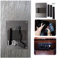 Vapanda Gun Holster Tactical Holsters Under The Desk Hand Gun Concealed Pistol Revolver Hidden Car Gun