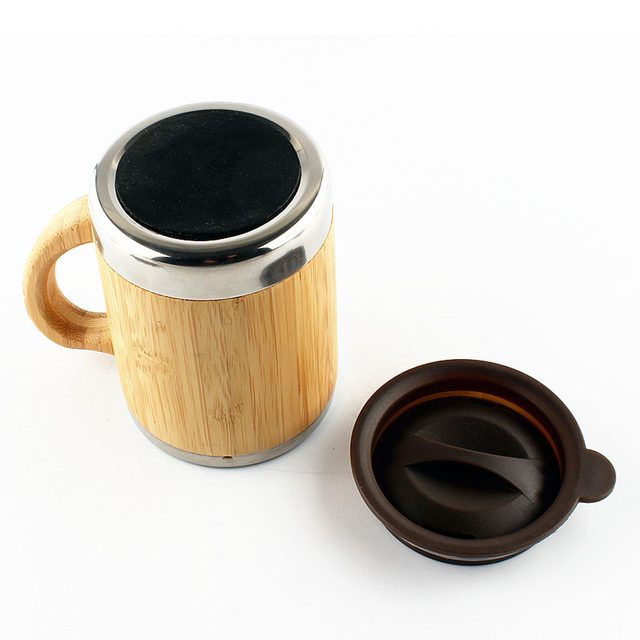Practical Universal Eco-Friendly Stainless Steel Insulated Travel Mug