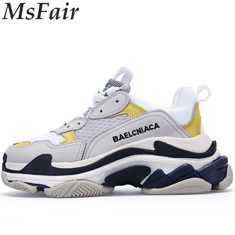 MSFAIR Men Women Running Shoes Breathable Mesh Run Sport Shoes For Male Outdoor Athletic Man Woman Brand Walking Mens Sneakers