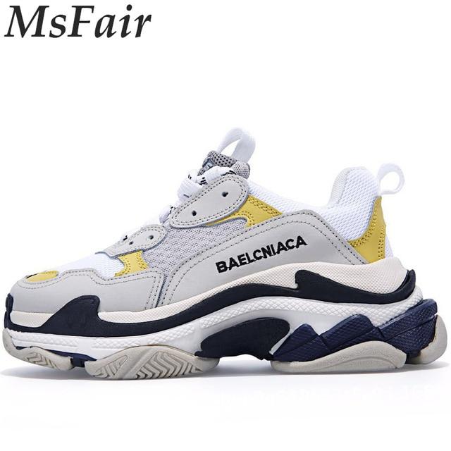 MSFAIR Для мужчин Для женщин кроссовки Обувь с дышащей сеткой Run спортивная обувь для мужчин открытый спортивный человек женщины бренда прогулки Для мужчин кроссовки