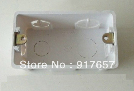 Single Gang Wall Mount Junction Box Type 120 Outlet Wall